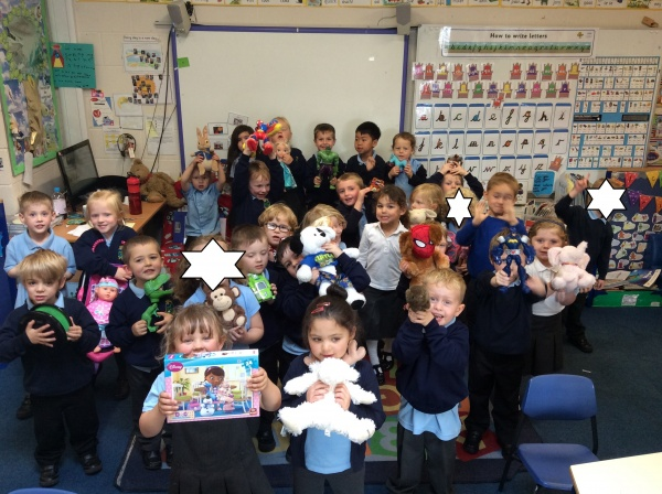Reception Show And Tell Newdale Primary And Nursery School