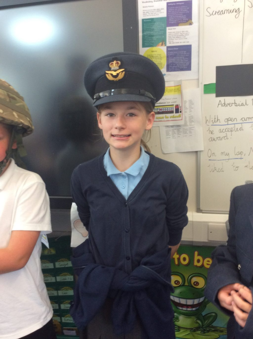 Careers Day Year 5 Visit from the RAF | Newdale Primary and