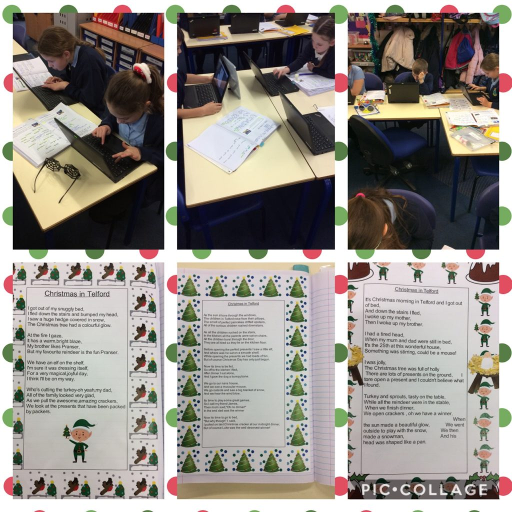 Christmas Poems Newdale Primary And Nursery School