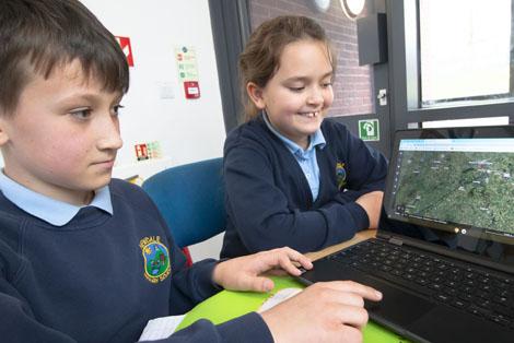 Blogging at Newdale School, Telford, Shropshire