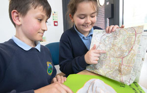Children Learning at Newdale Primary and Nursery School